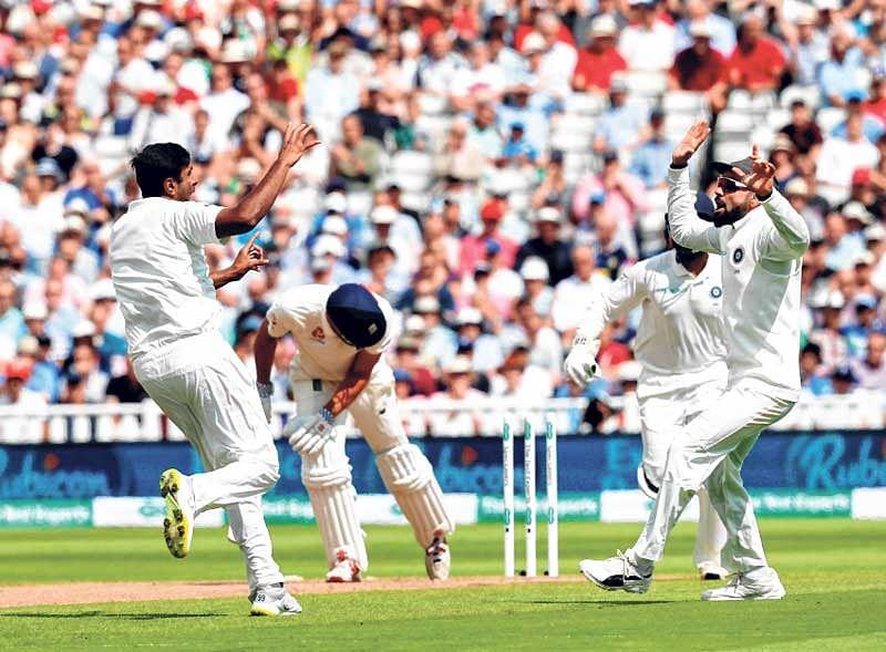Ashwin spins it India's way