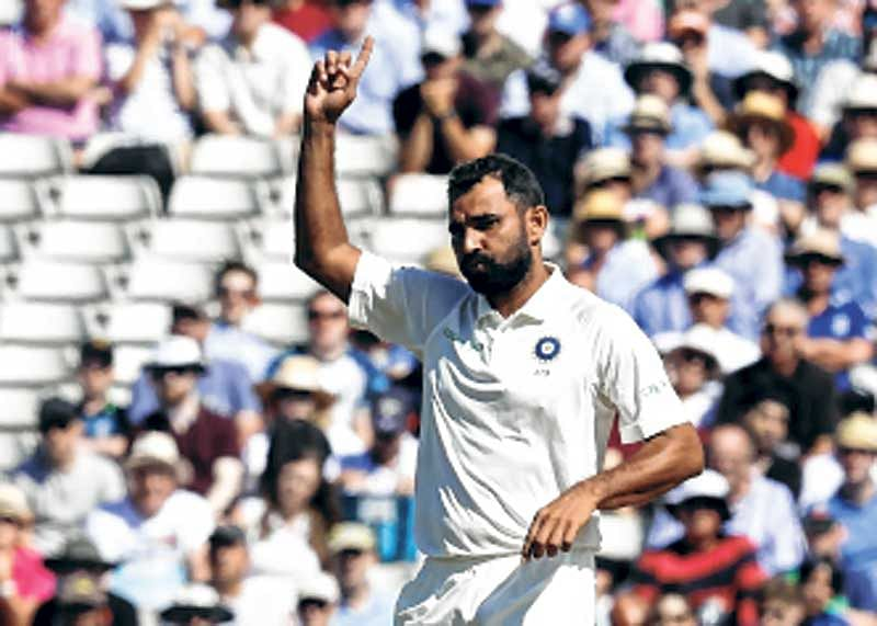 Love for cricket helped me fight off-field problems: Mohammed Shami
