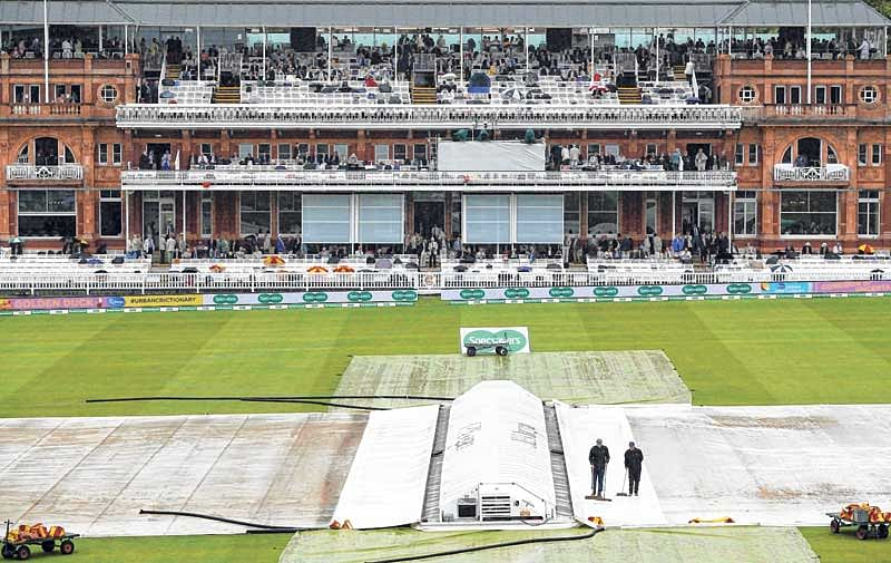 Rain plays spoilsport –Opening day's play of the Lord's Test is a wash out