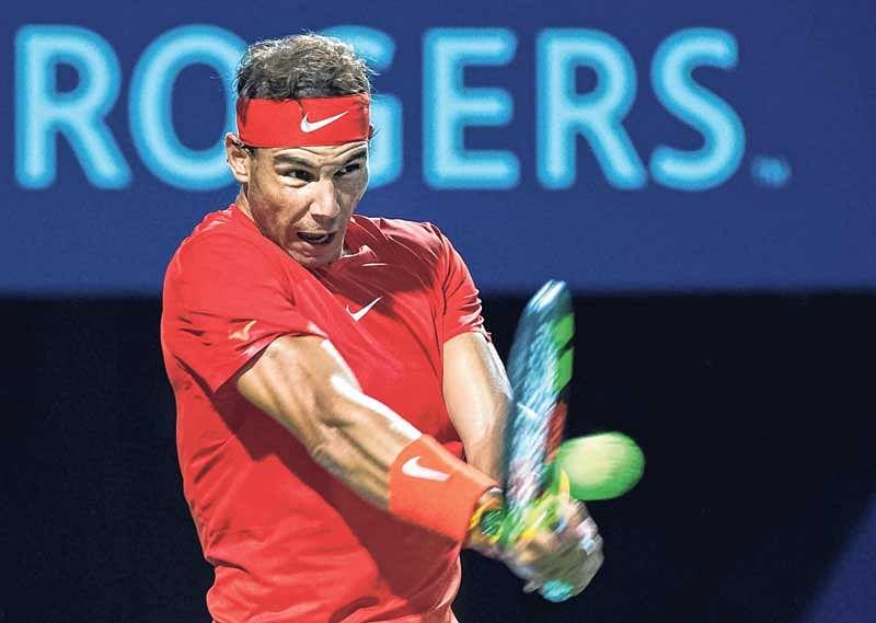 Rafael Nadal overcomes Cilic challenge in Toronto