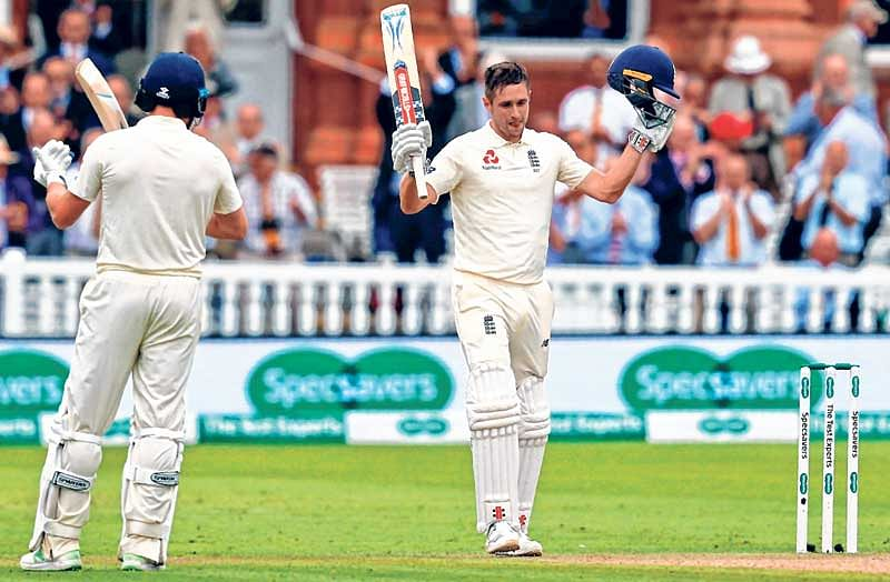 Chris Woakes marks his return with unbeaten 120 as India struggle on Day 2 of the second Test at Lord's