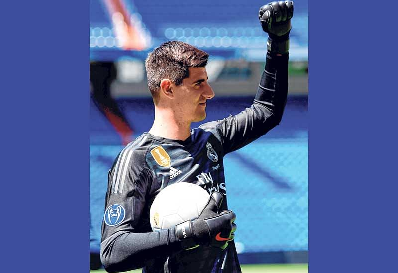 Family only reason Thibaut Courtois moved to Real: agent