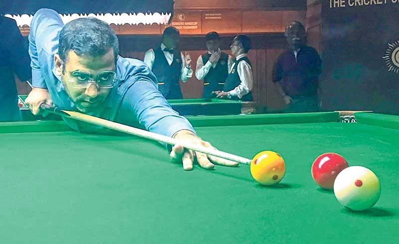 CCI Billiards: Sourav Kothari, Siddharth Parikh storm into final