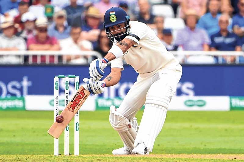 Kohli, Rahane make it India's day atNottingham