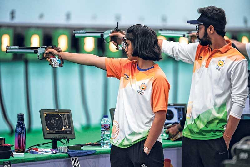 Teenage shooting sensations face stiff Asian Games test