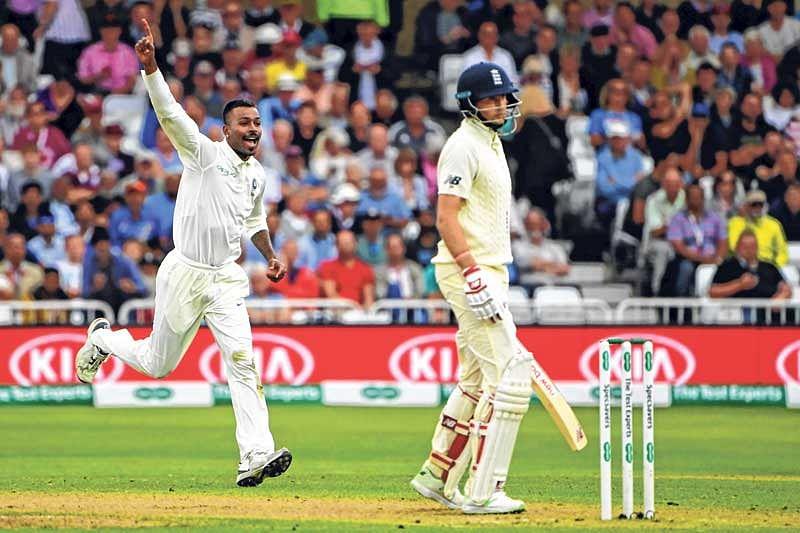 Hardik Pandya puts India in command
