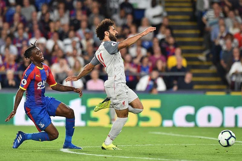 Mohamed Salah wins controversial penalty as Liverpool beats Crystal Palace