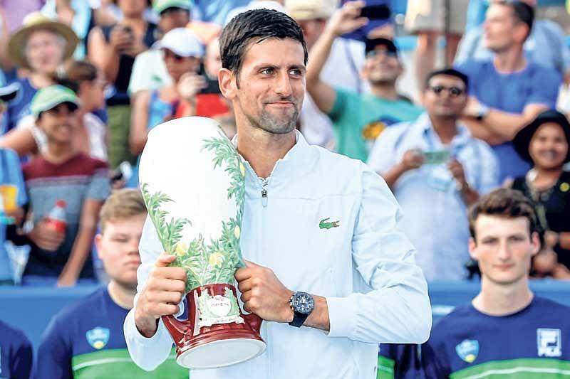 Finally! Djokovic waltzes past Federer for 1st Cincinnati title
