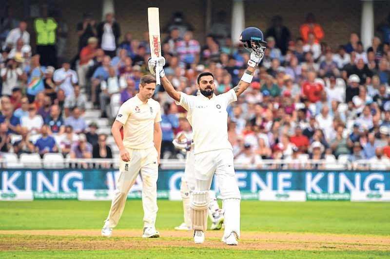 India vs England 3rd Test: Virat Kohli ton puts India in driver's seat; set England 521 target