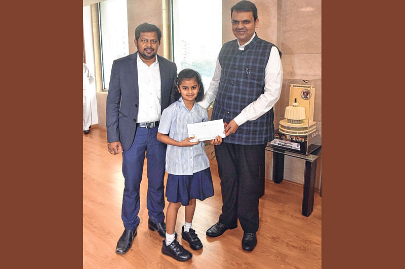 Magnanimous Suhaani donates prize money to CM relief fund