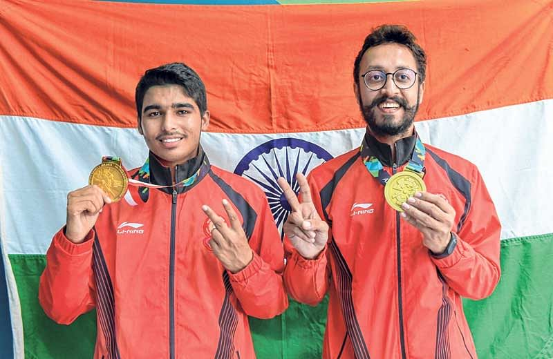 Shooters' sensational show – Chaudhary becomes youngest Indian to bag gold medal while Rajput clinches silver