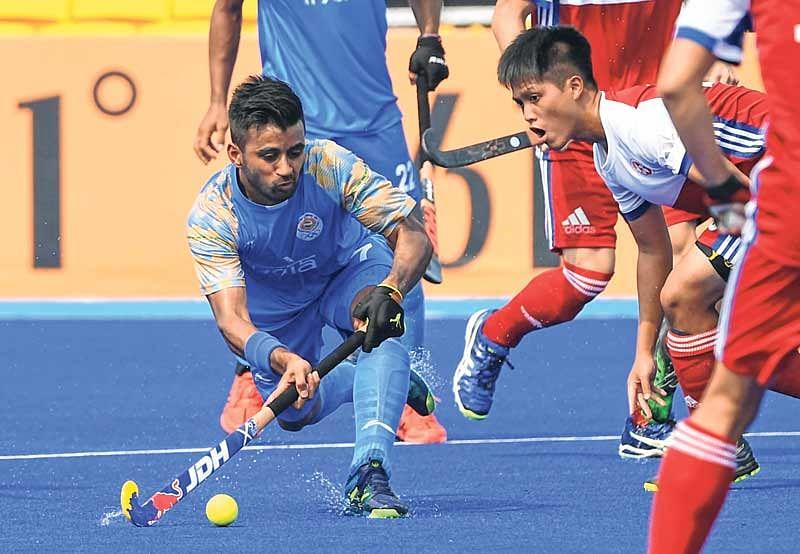 Asian Games : Indian men's hockey team decimates Hong Kong China 26-0, betters 86-year-old record