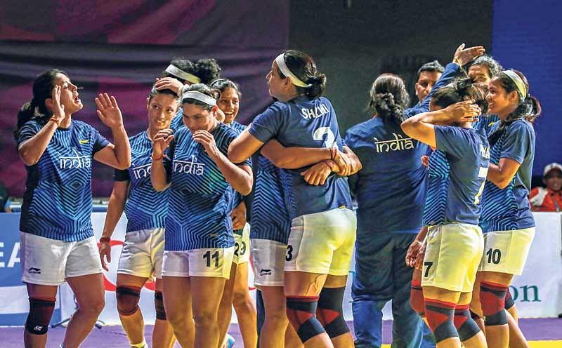 Asian Games : Iran stun India in kabaddi semis; women in final