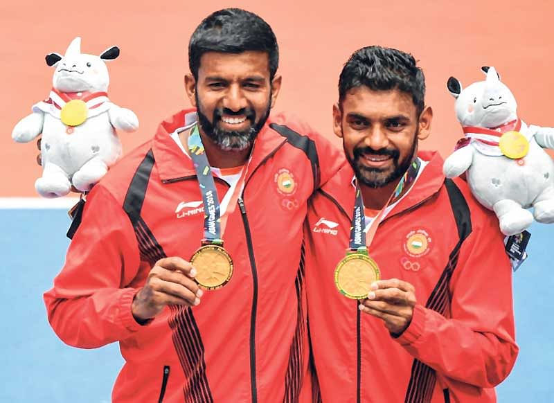 Asian Games : Rohan Bopanna, Divji Sharan clinch men's doubles gold in Tennis