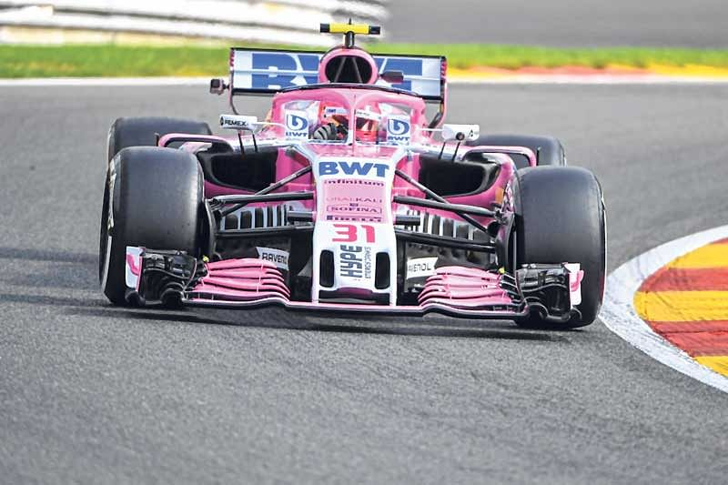 Force India renamed as Racing Point Force India
