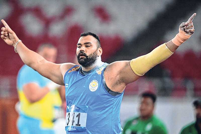 Asian Games : Tajinder Pal Singh's golden throw