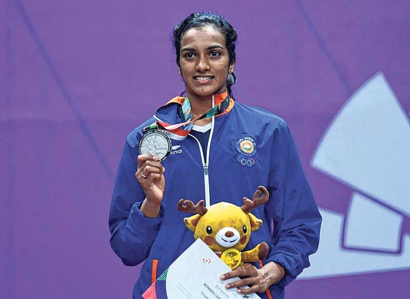 Asian Games : PV Sindhu scripts history with silver, jinx continues