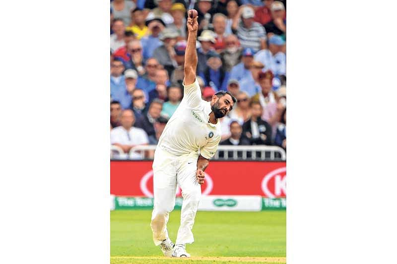I have learnt a lot watching Anderson bowl, says Mohammed Shami