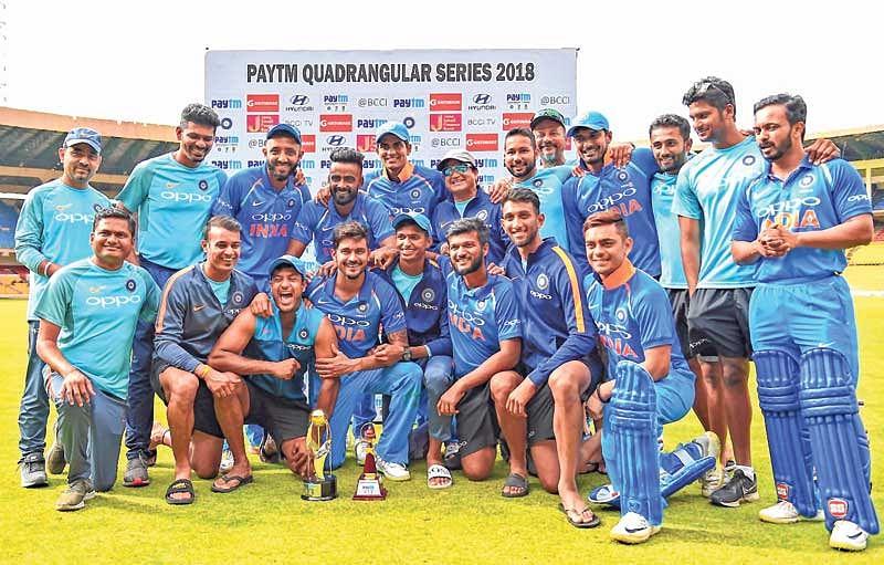 Manish Pandey, Mayank Agarwal power India 'B' to title over Oz