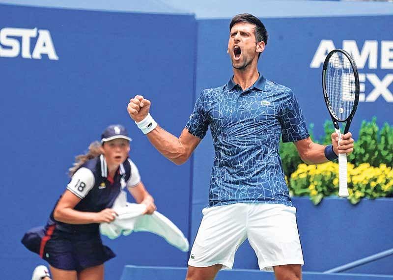 US Open :  Novak Djokovic survives heat and Fucsovics; Federer through