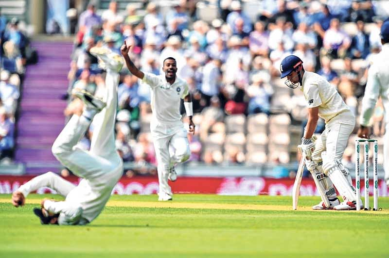 India Vs England Test Series : Indian pacers rock England