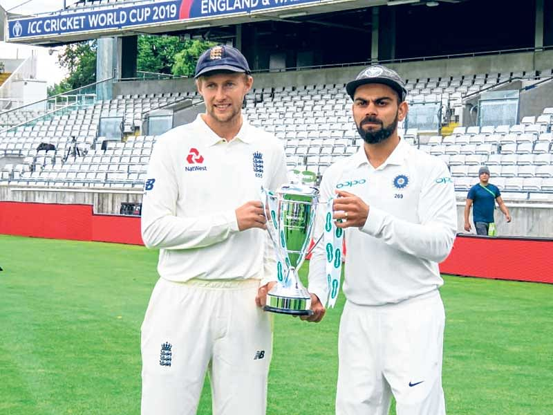 India look to spoil hosts' party