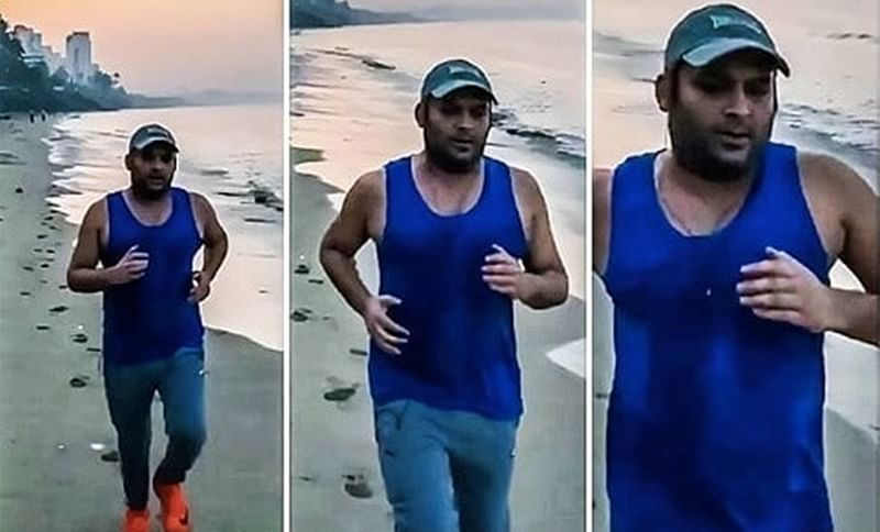Kapil Sharma hits the beach in latest attempt to get back in shape; See Pic