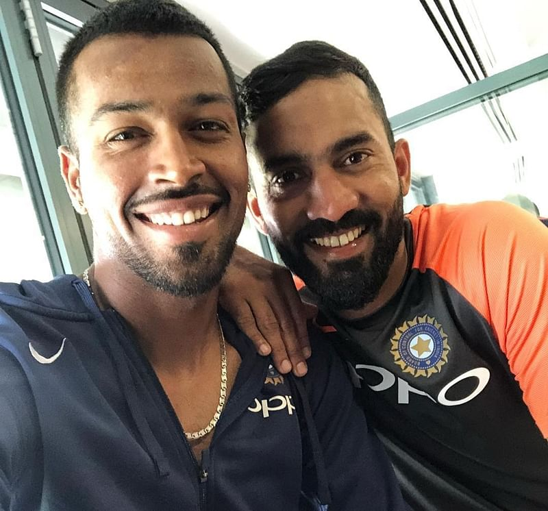 See pic: Hardik Pandya's 'No 1 Love' is Dinesh Karthik, this is what wife Dipika Pallika has to say