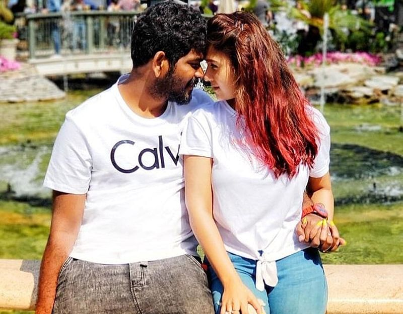 Vignesh Shivn may have spilled the beans on relationship with Nayanthara; see pic