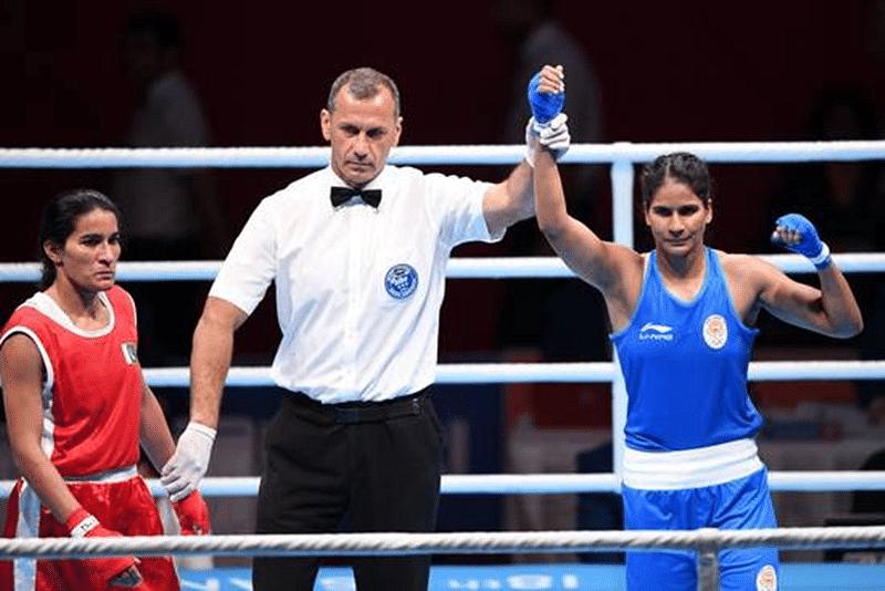 Asian Games 2018: Indian Boxer Pavitra through to quarter finals