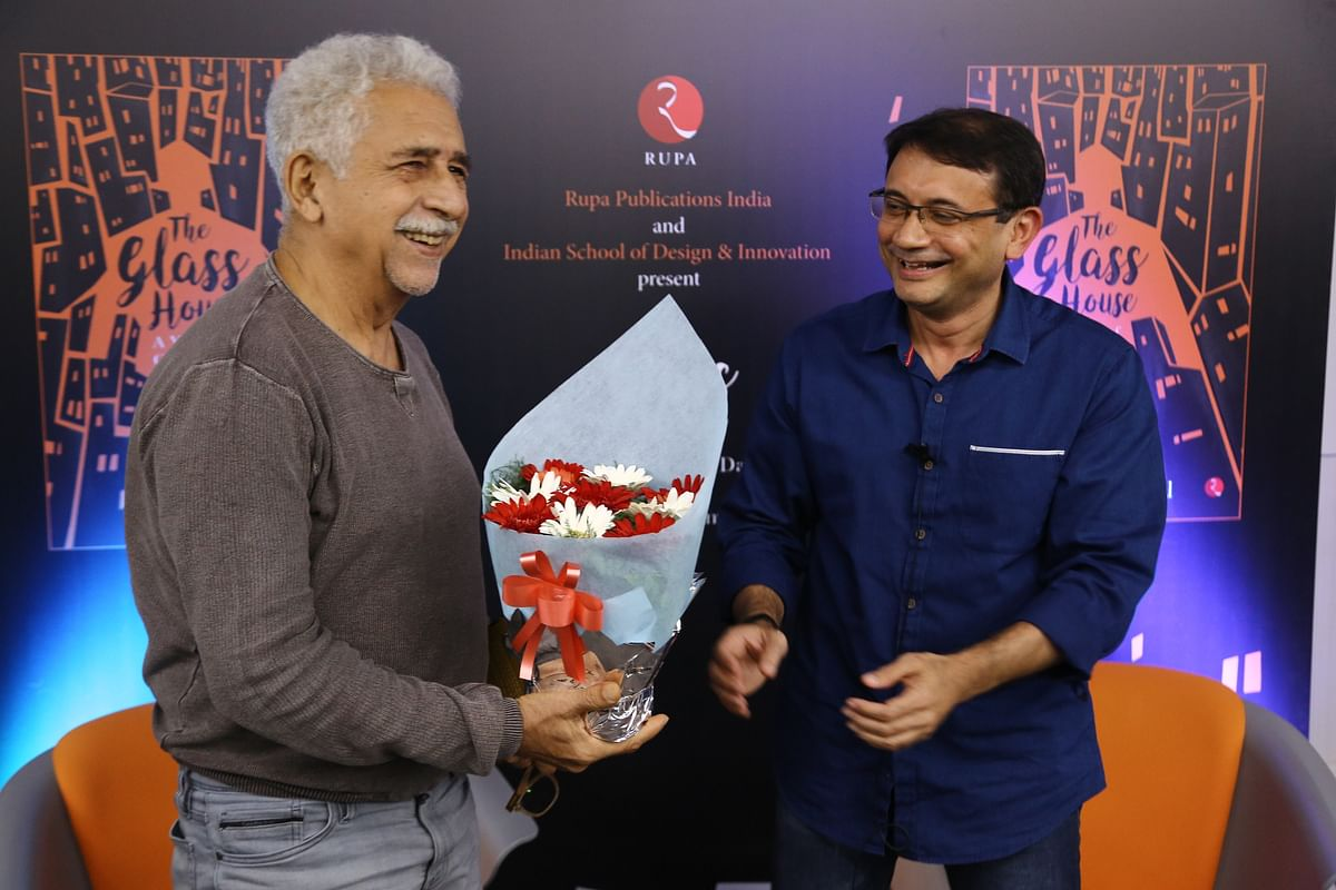 Book reading of Chanchal Sanyal's The Glass House by the inimitable Naseeruddin Shah