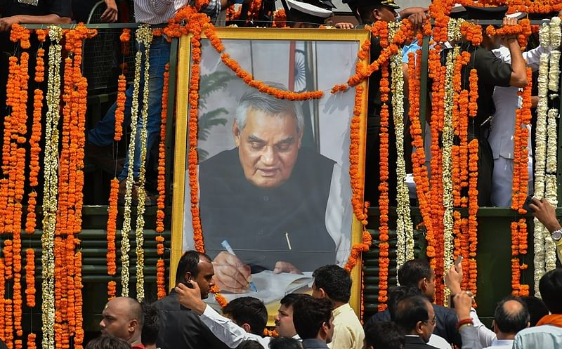 Atal Bihari Vajpayee funeral: Former PM and 'Bharat Ratna' cremated with full state honours in Delhi