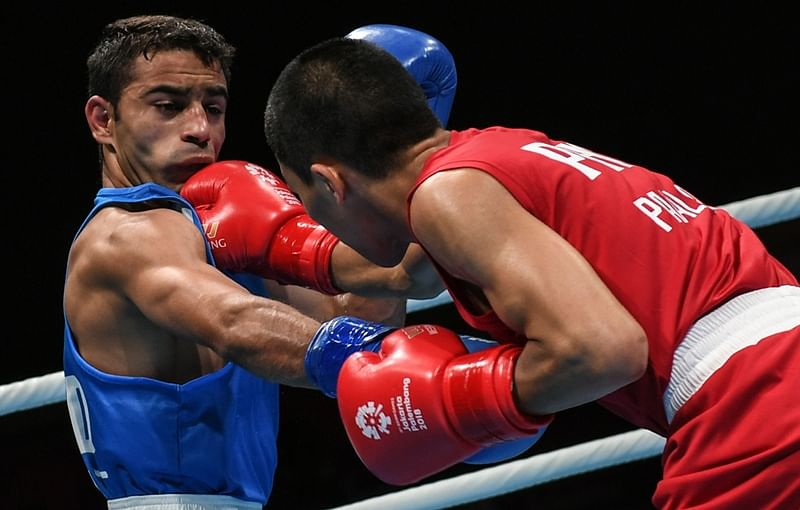 Asian Boxing Championship: Challenging to play in new category, says Amit Panghal