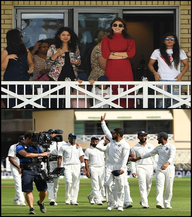 Anushka Sharma, Radhika Rahane, Prithi Ashwin: Watch how wives of Indian cricketers applaud hubbies