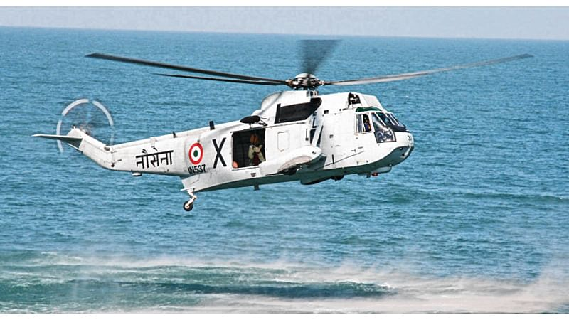Navy gets 111 choppers