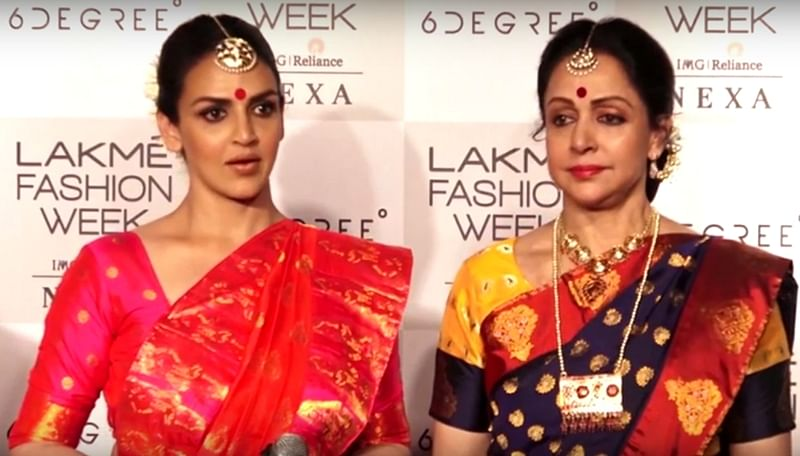 LFW 2018! Miffed Esha Deol, Hema Malini walk out after being interrupted by anchor; watch video