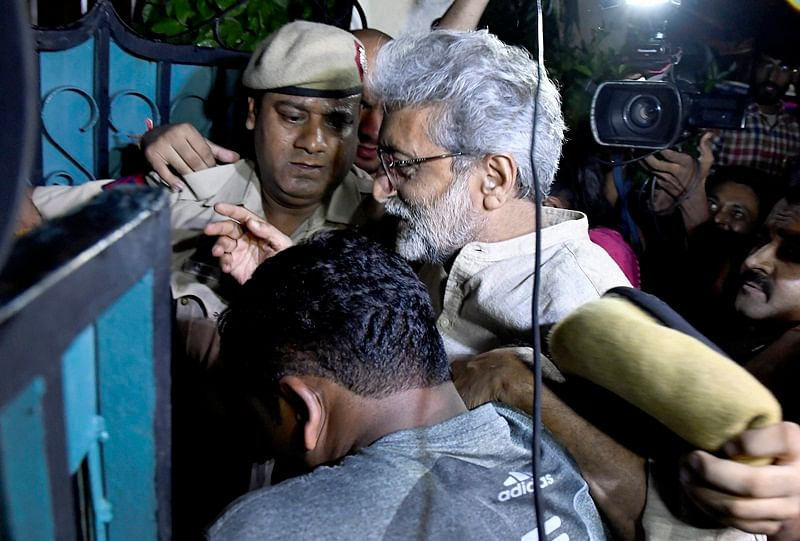 NIA does not seek further custody of Gautam Navlakha; sent to Taloja jail