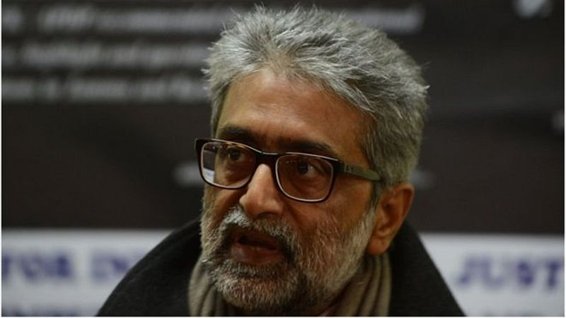 Gautam Navlakha transit remand lost in Marathi translation