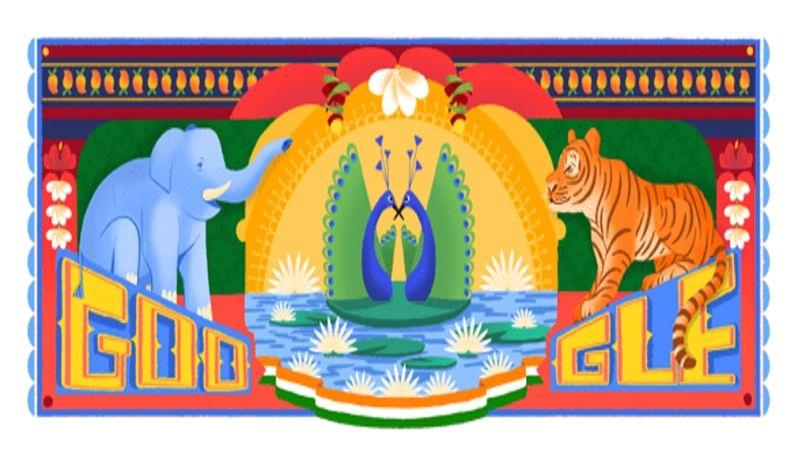 Google Doodle celebrates India's 72nd Independence Day