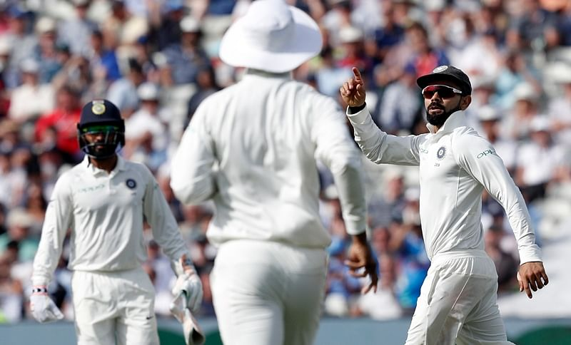 India vs England 1st Test Day 2: India bowl out England for 287