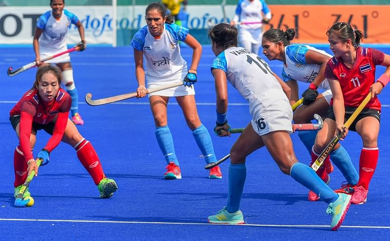 Indian women hockey team hold Spain to 1-1 draw