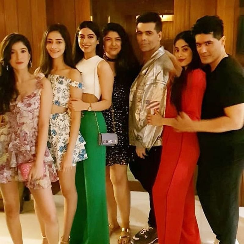 Manish Malhotra Bash: Not only Priyanka Chopra but Janhvi Kapoor, Sara Ali Khan, KJo party hard; see pics