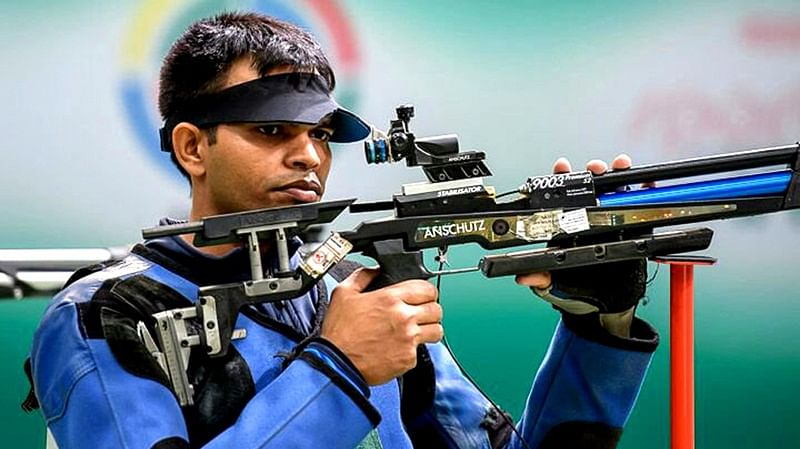 Asian Games 2018: Indian shooter Deepak Kumar wins silver medal in men's 10m air rifle event