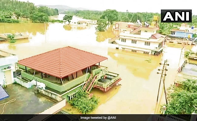 Flood: 1,500 stranded in Kodagu of Karnataka; CM visits affected areas