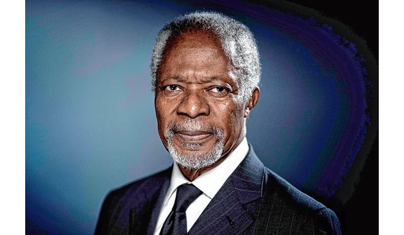 Former UN Secy-Gen Kofi Annan dies
