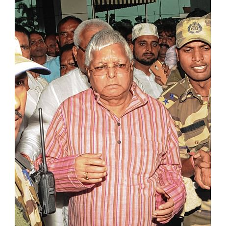 Fodder scam case: Lalu Prasad appears before CBI court in Ranchi