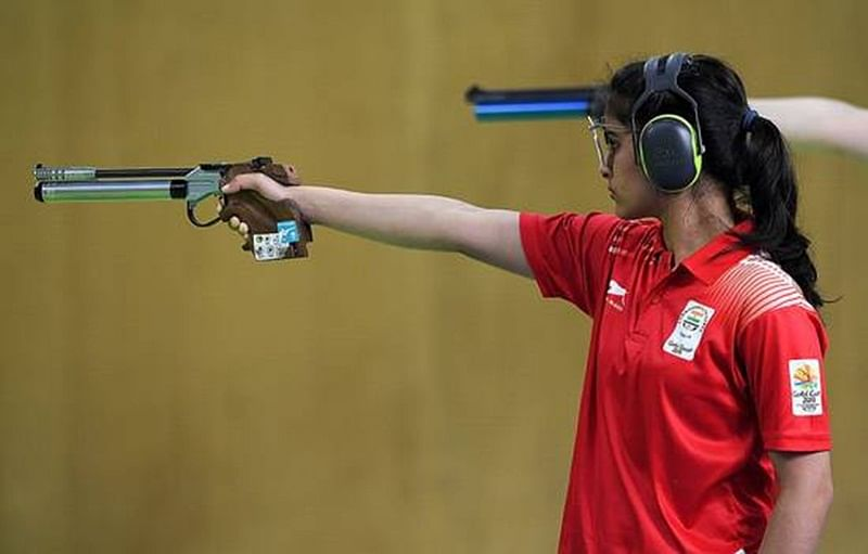 Asian Games 2018: Indian women shooters Manu Bhaker, Rahi Sarnobat enter finals of 25m pistol competition