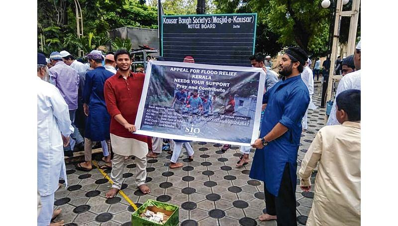 Kerala Floods: Muslim NGOs donate Rs 10 lakh as Eid gift to flood-hit people
