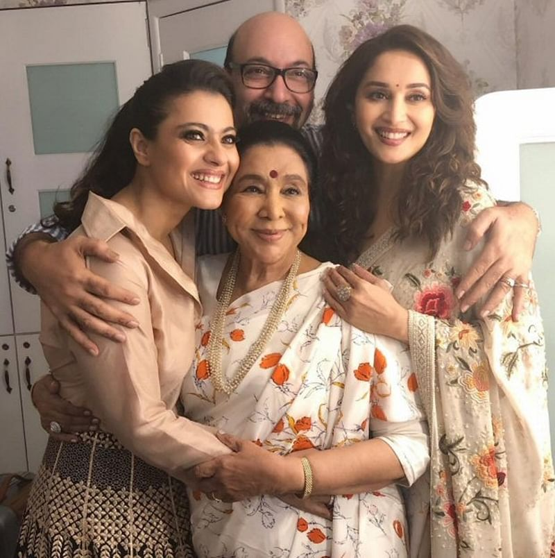 Three Beauties In One Frame! Madhuri Dixit, Kajol and Asha Bhosle come together on the sets of this reality show [see pic]