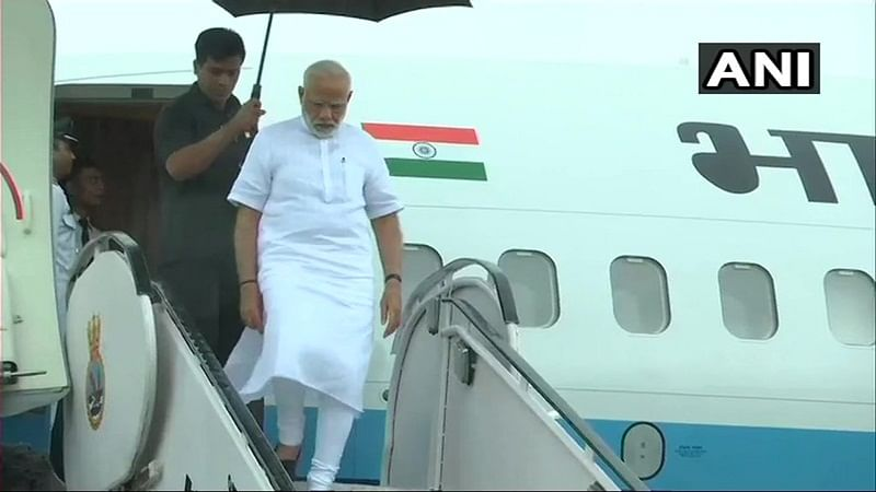 Kerala Rains: PM Narendra Modi arrives in Kerala to review flood situation